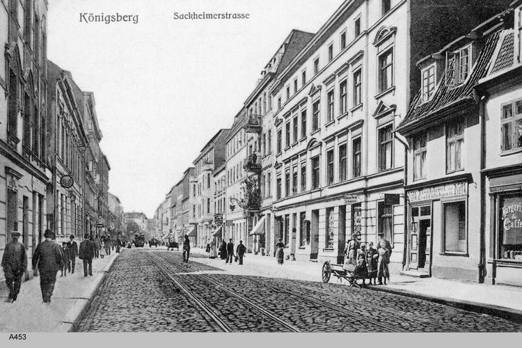 Königsberg, Sackheimer rechte Straße