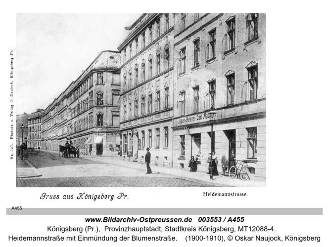 Königsberg, Heidemannstraße