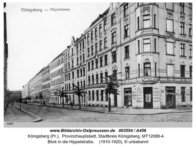 Königsberg, Hippelstraße