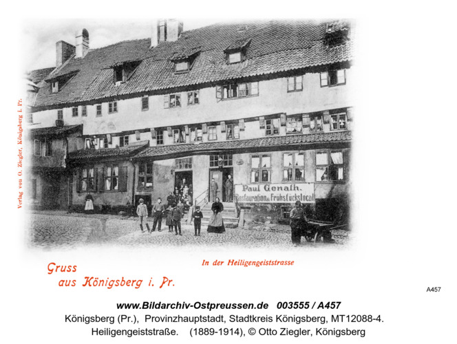 Königsberg, Heiligengeiststraße