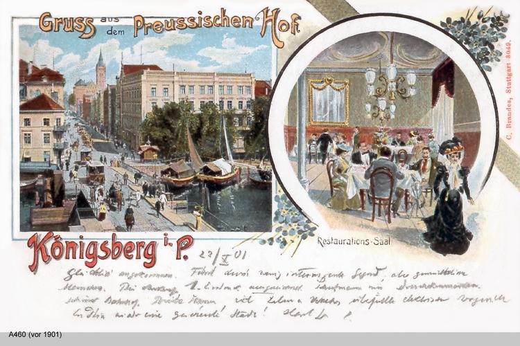 Königsberg, Preußischer Hof
