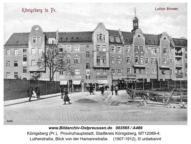 Königsberg, Lutherstraße