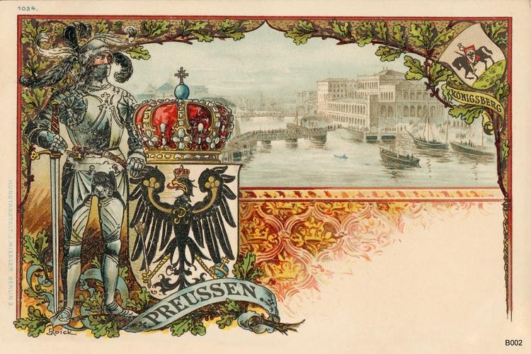 Königsberg, Preußen Grafik