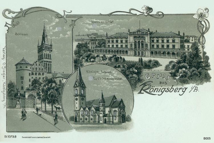 Königsberg, Sehenswürdigkeiten, Grafik