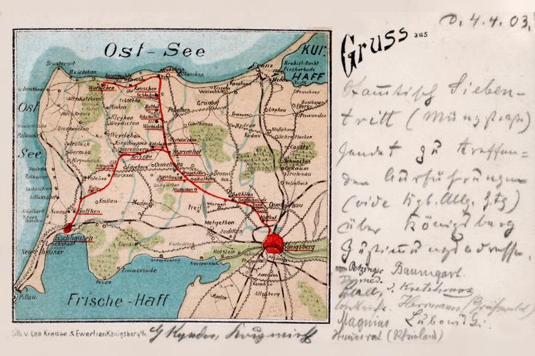 Samland, Samlandkarte