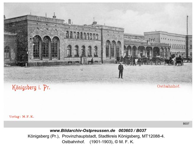 Königsberg, Ostbahnhof
