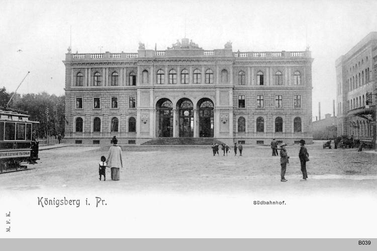 Königsberg, Südbahnhof