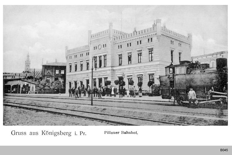 Königsberg, Pillauer Bahnhof