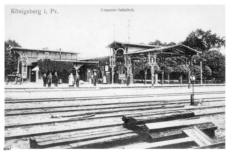 Königsberg, Cranzer Bahnhof