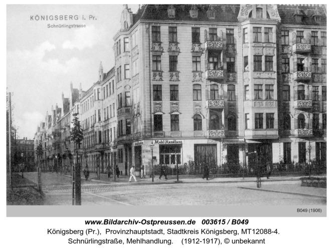 Königsberg, Schnürlingstraße, Mehlhandlung