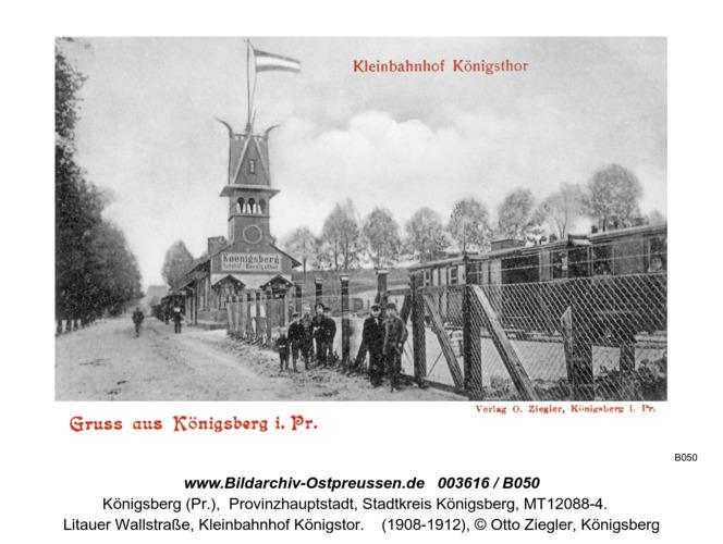 Königsberg, Kleinbahnhof Königstor