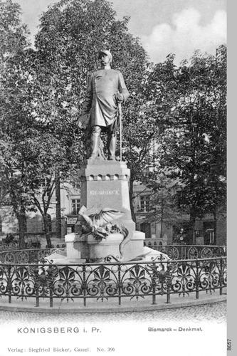 Königsberg, Bismarck Denkmal