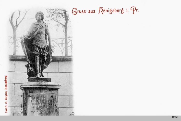 Königsberg, Denkmal König Friedrichs I.