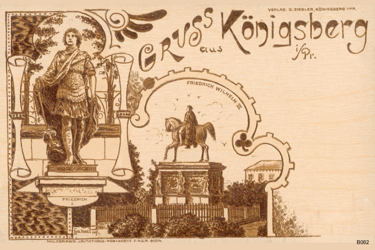 Königsberg, Denkmale, Grafik