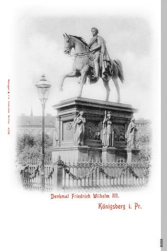 Königsberg, Friedrich Wilhelm III Denkmal