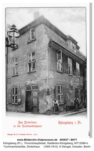 Königsberg, Dinterhaus