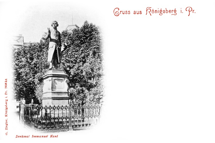 Königsberg, Kantdenkmal