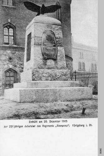 "Königsberg, ""Kronprinz""-Regiment Ehrenmal"