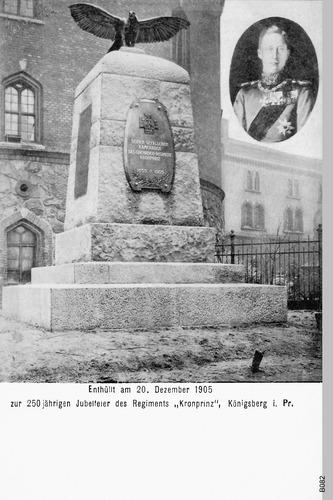 "Königsberg, ""Kronprinz""- Kaserne, Ehrenmahl"