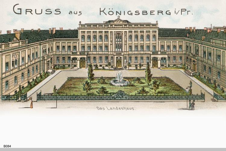 Königsberg, Landeshaus Grafik