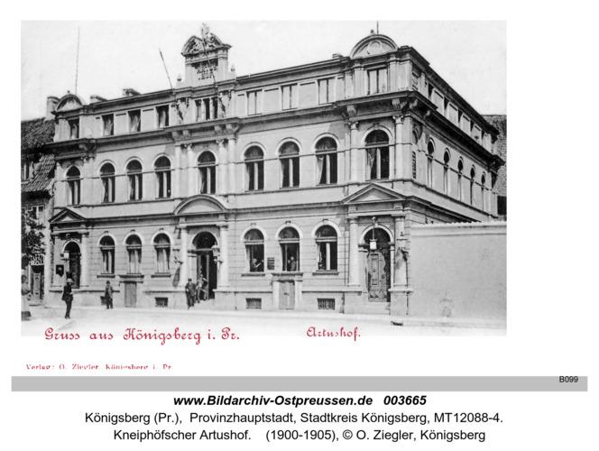 Königsberg, Artushof