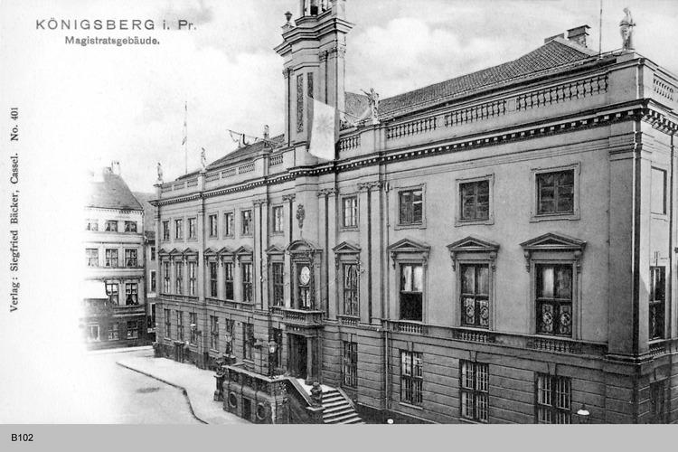 Königsberg, Magistrat