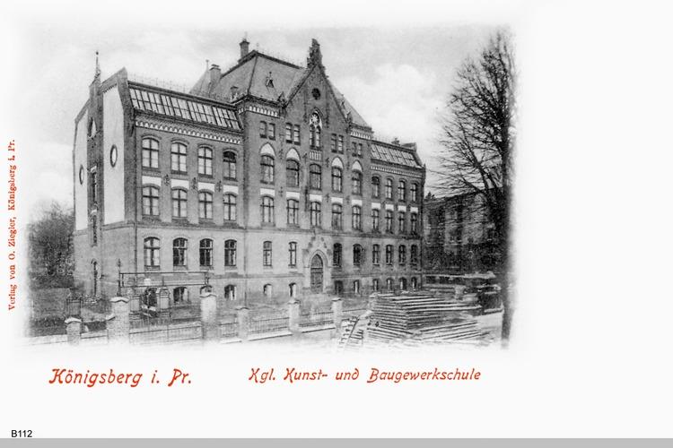 Königsberg, Königliche Baugewerkschule