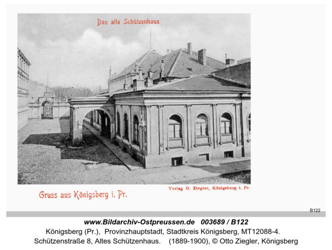 Königsberg, Altes Schützenhaus