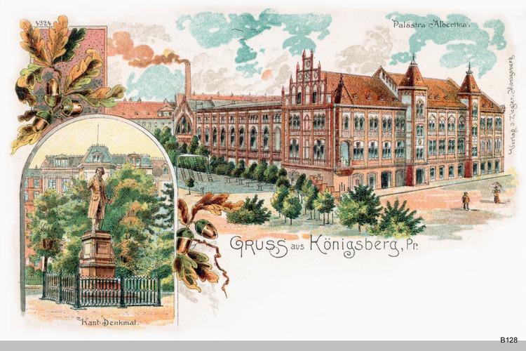 Königsberg, Palaestra Albertina Grafik