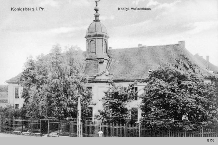 Königsberg, Königliches Waisenhaus