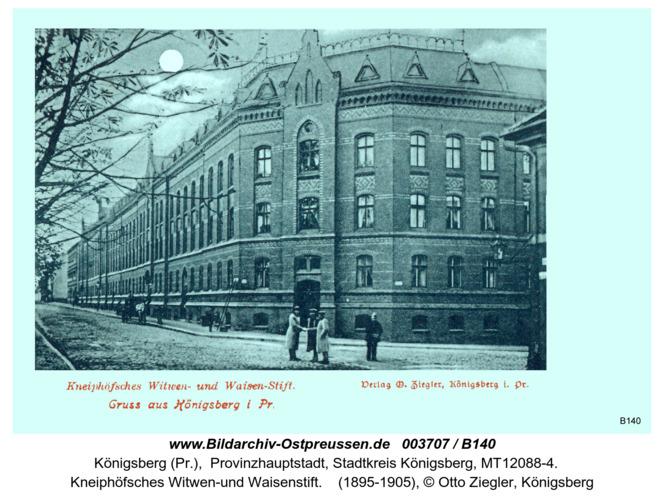 Königsberg, Kneiphöfsches Witwen und Waisenstift