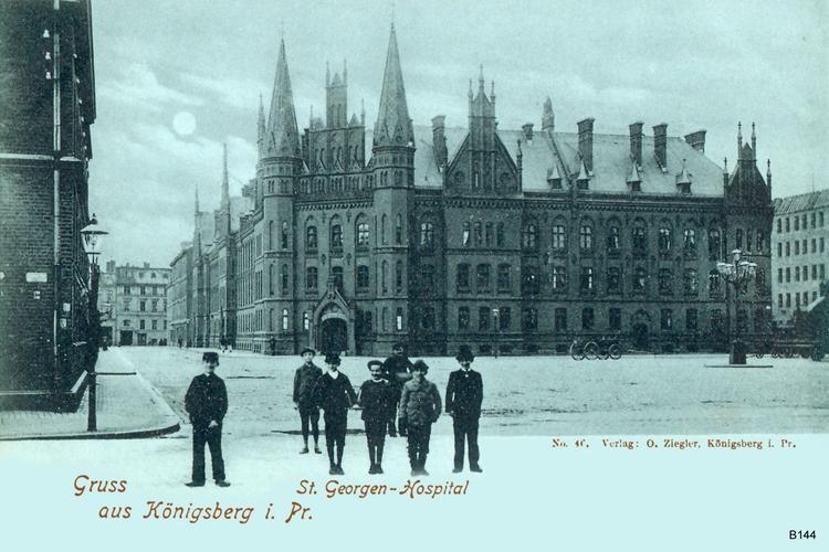 Königsberg, St.Georgen Hospital