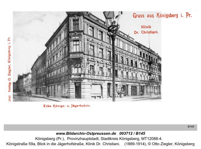 Königsberg, Klinik Dr. Christiani