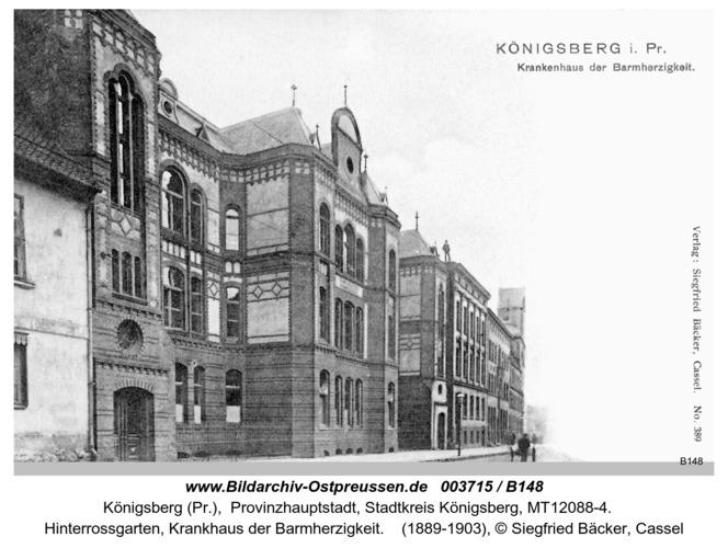 Königsberg, Krankhaus der Barmherzigkeit