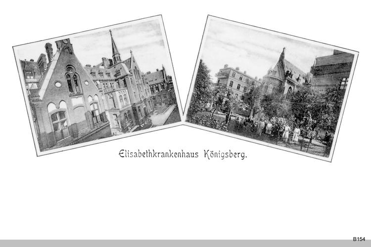 Königsberg, Elisabeth Krankhaus