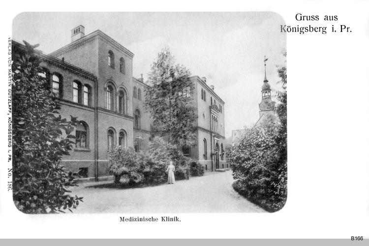 Königsberg, Medizinische Klinik