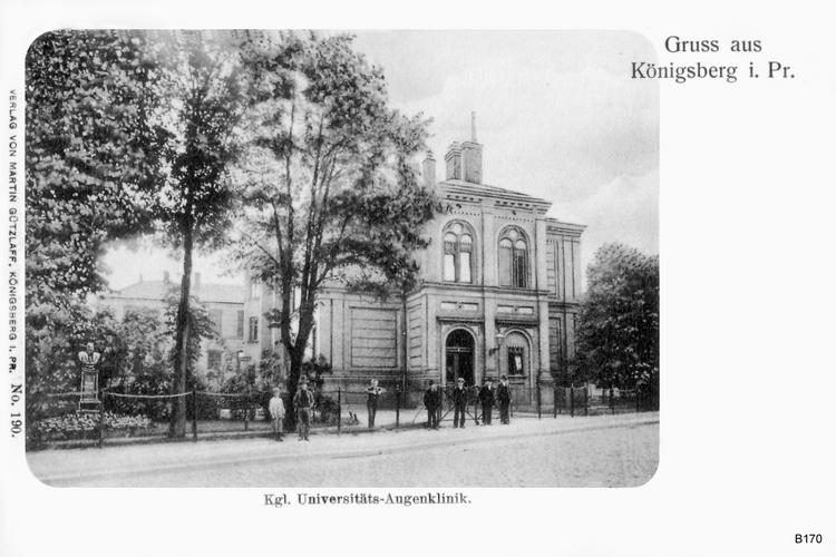 Königsberg, Königliche Universitäts Augenklinik