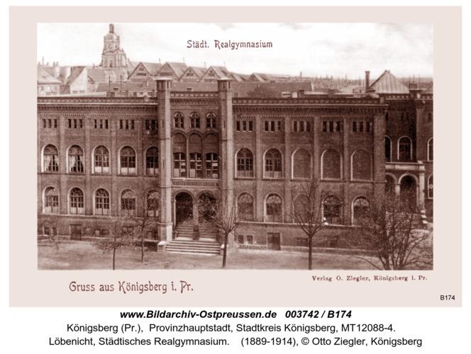 Königsberg, Städtisches Realgymnasium