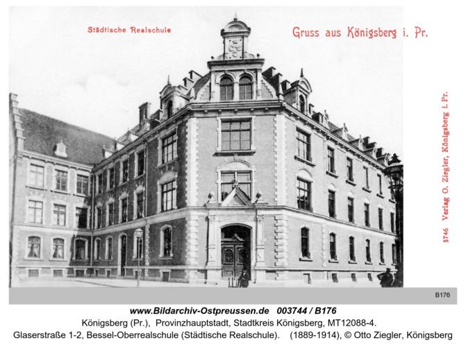 Königsberg, Städtische Realschule