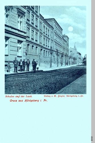 Königsberg, Volksschule an der Laak