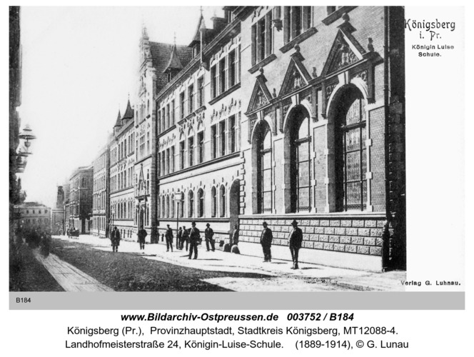 Königsberg, Königin-Luise-Schule