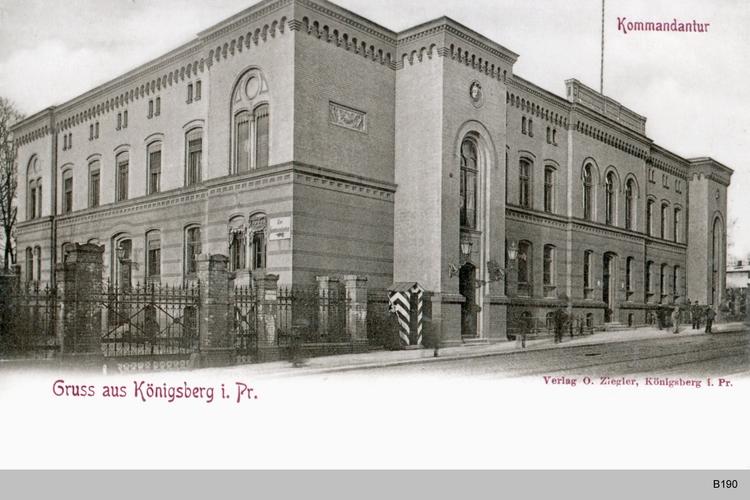 Königsberg, Kommandantur