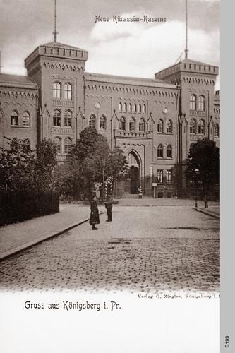 Königsberg, Kürassierkaserne