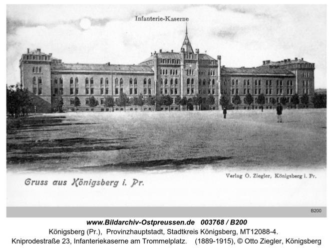 Königsberg, Infanteriekaserne