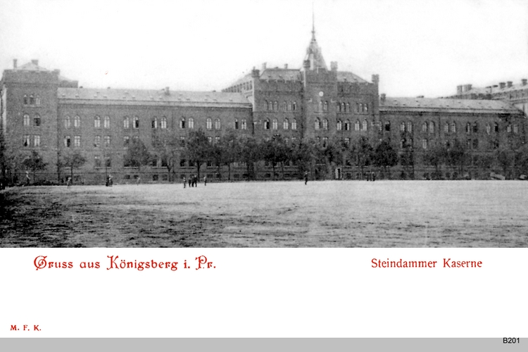 Königsberg, Steindammer Kaserne