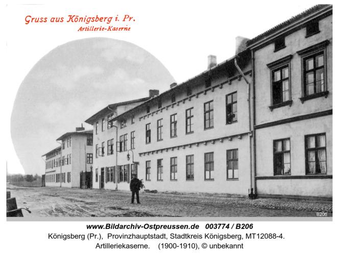 Königsberg, Artilleriekaserne