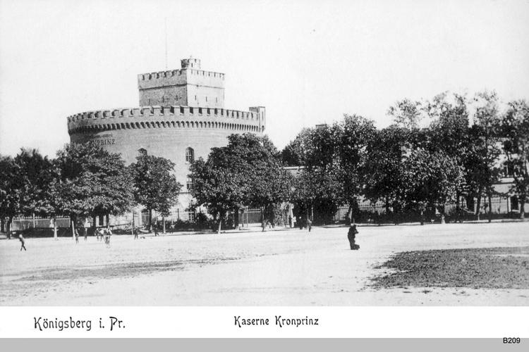 Königsberg, Kaserne Kronprinz