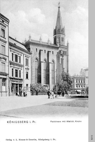 Königsberg, Altstädtische Kirche