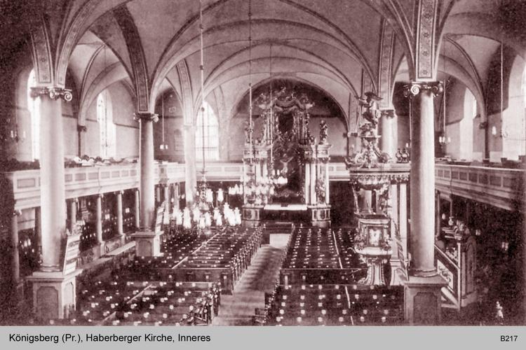 Königsberg, Haberberger Kirche Innen