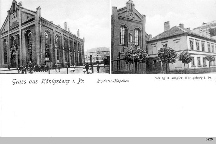 Königsberg, Baptisten Kapelle